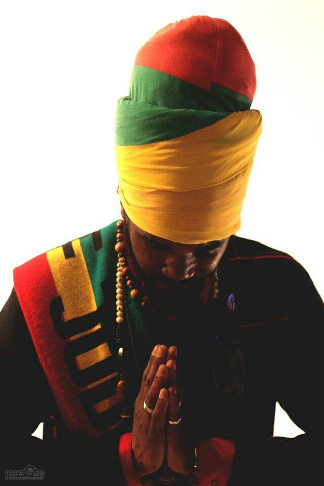 Rastafarian head wrap for men