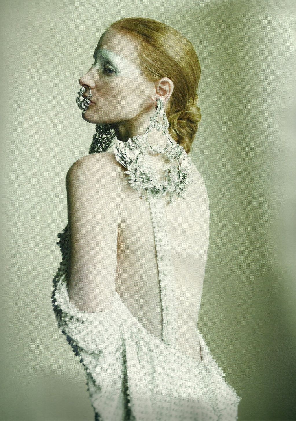 Jessica Chastain photographed by Paolo Roversi for W Magazine, May 2012