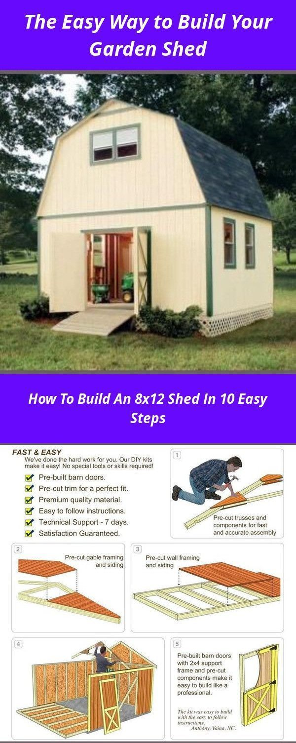 Photo of Easy to build warehouse plans and how to build a DIY garden shed to grow … – Modern,  #buil…