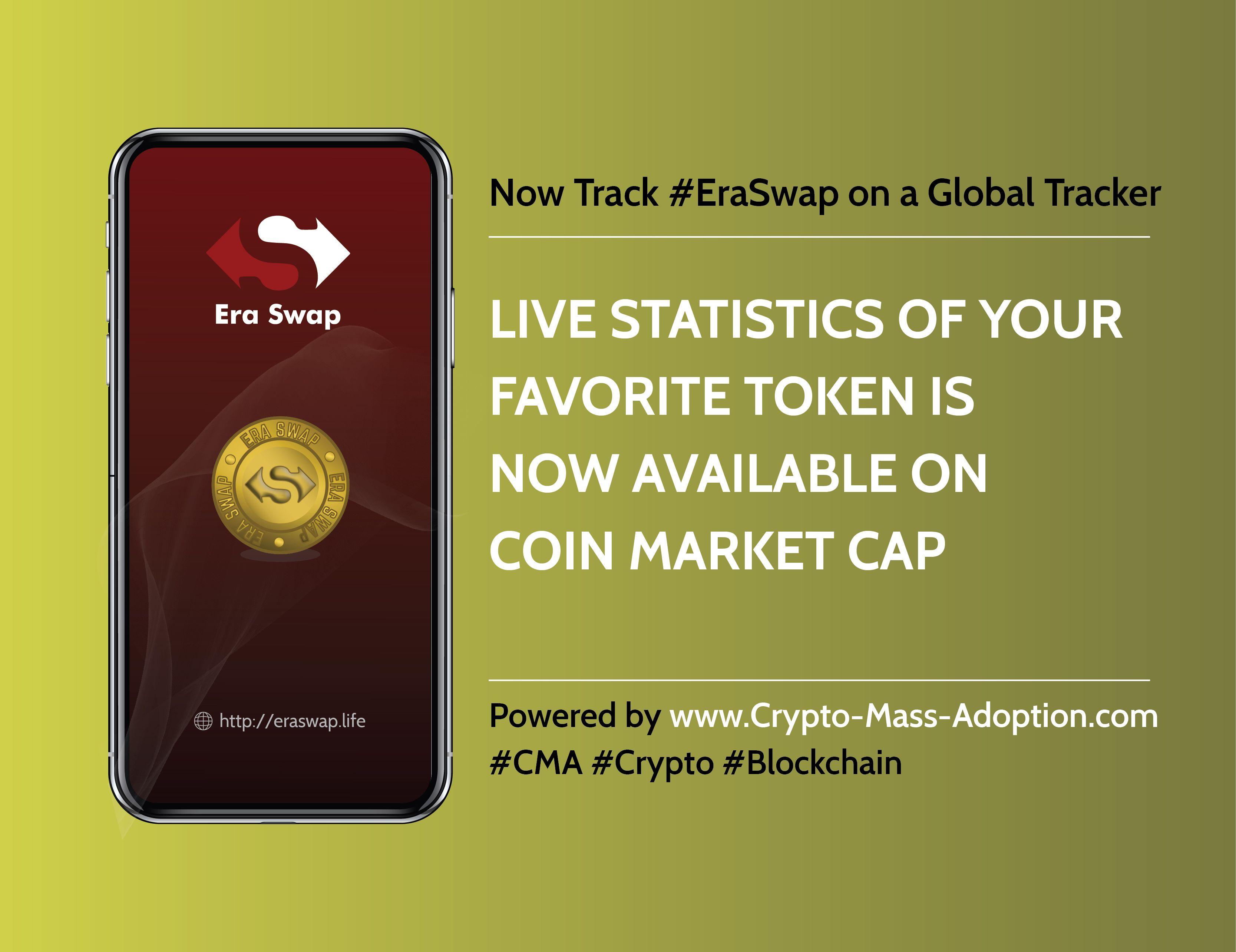 Era Swap Live Statistics Are Available On The Coin Market Cap Coin Market Blockchain Technology Freelance Marketing