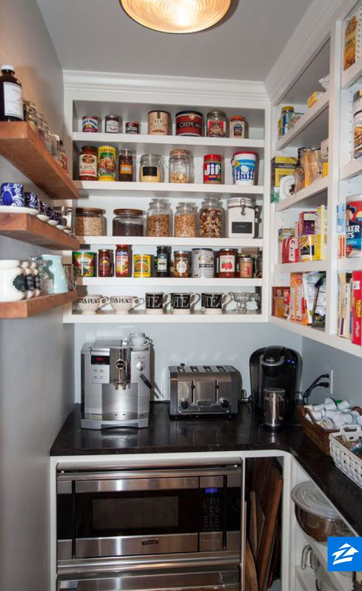 Organization Hack Use Your Pantry As A Space To Store Small Kitchen