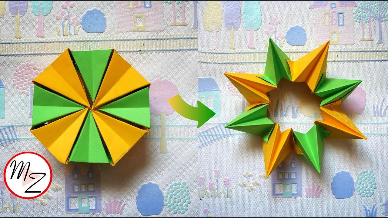 Paper Toys DIY: How to Make an Easy Origami Magic Circle