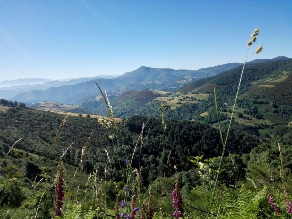 Camino De Santiago Entering Galicia To El Cebreiro