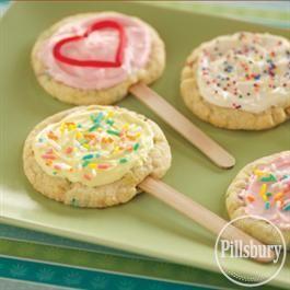 #Cookie Pops from Pillsbury® Baking
