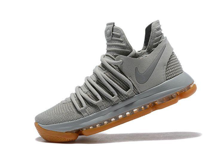 super popular a4f3b 1212d Nike KD 10 Pale Grey Light Bone Gum