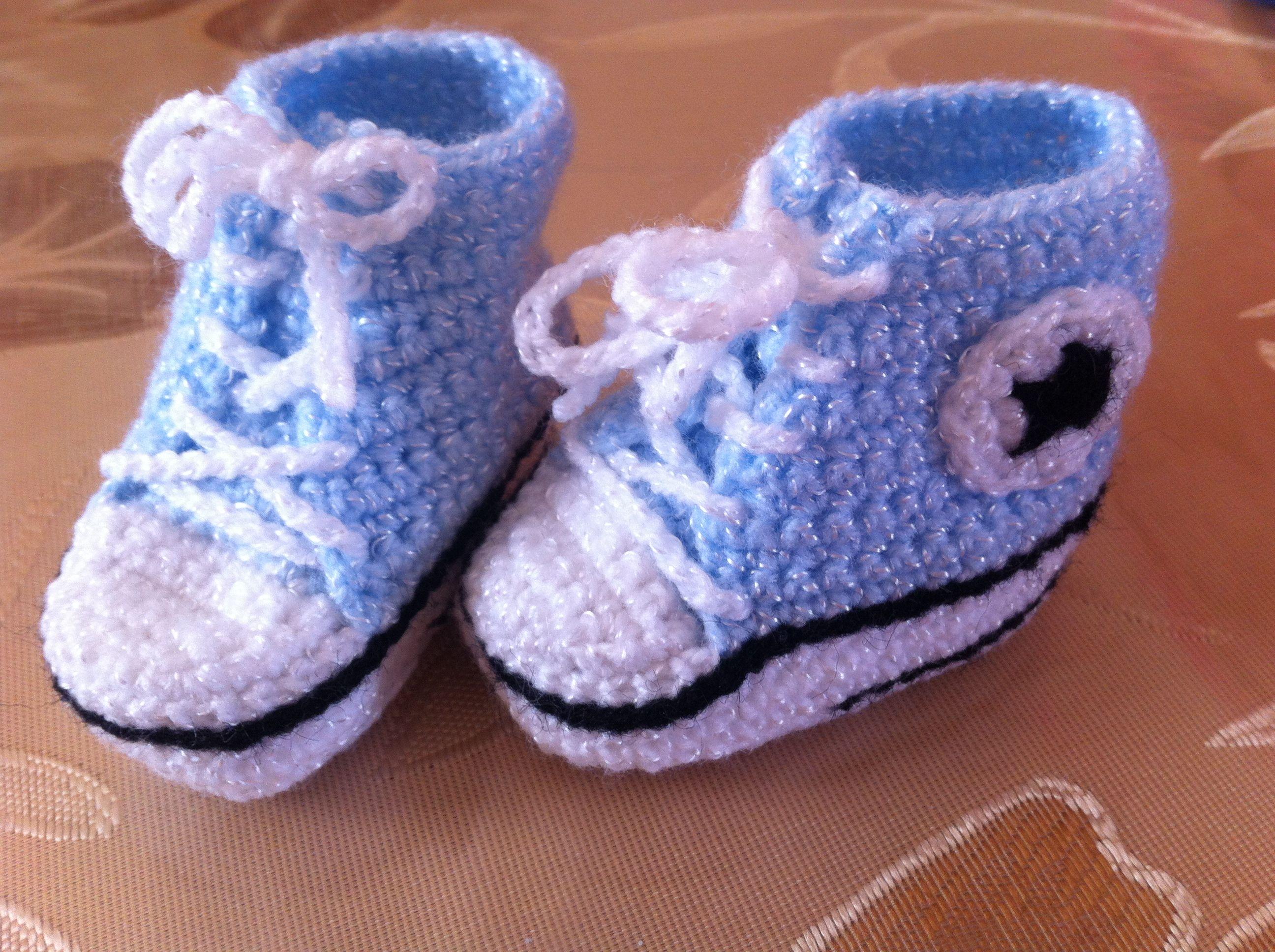 botitas bebe tipo converse