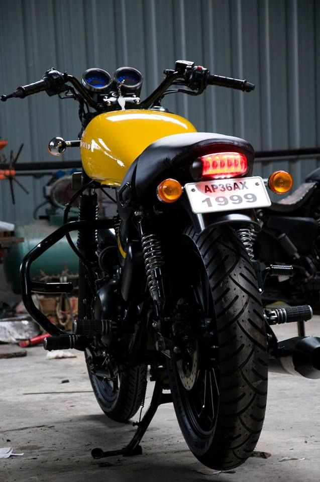 Coloring Thunderbird - Eimor Custom's Pitambari | 350CC.com