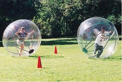 Zorb Ball Human Bowling; great fun for the entire family