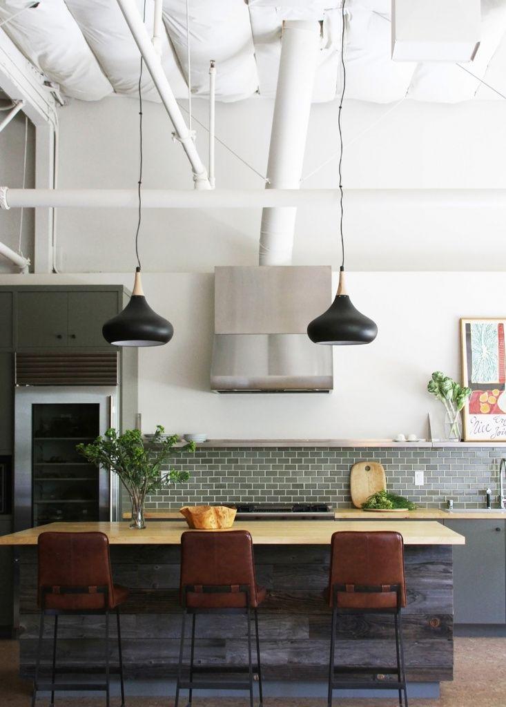 Inspiration  un îlot central dans la cuisine Pinterest Kitchens