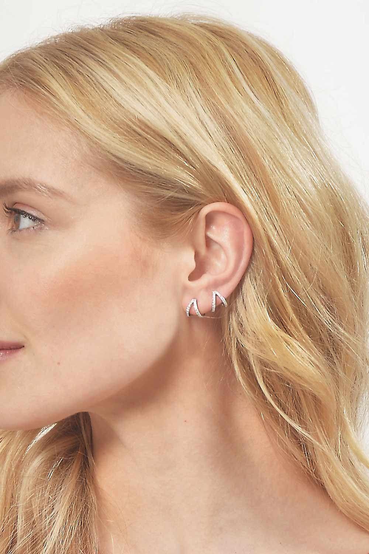 Korean Women Earring Ear Cuff Clip Mental Leaf Earrings Wrap No Piercing Gold Silver/color Wedding Jewelry Girls Gift As Effectively As A Fairy Does Earrings