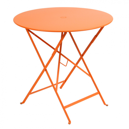 French Bistro Folding Table 30 Umbrella Hole In 2021 Round Folding Table Folding Table Fermob Bistro table with umbrella hole