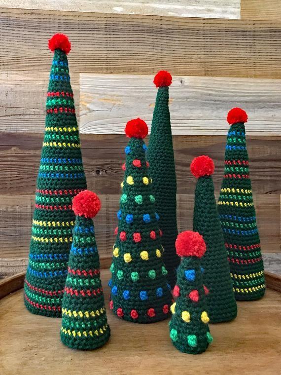Crochet Christmas Tree Pattern - Xmas Tree Pattern