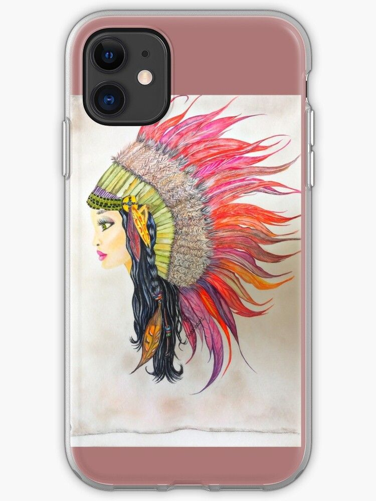 iPhone 12 - Souple 'Princesse indienne ' par Hailey Burgess ...