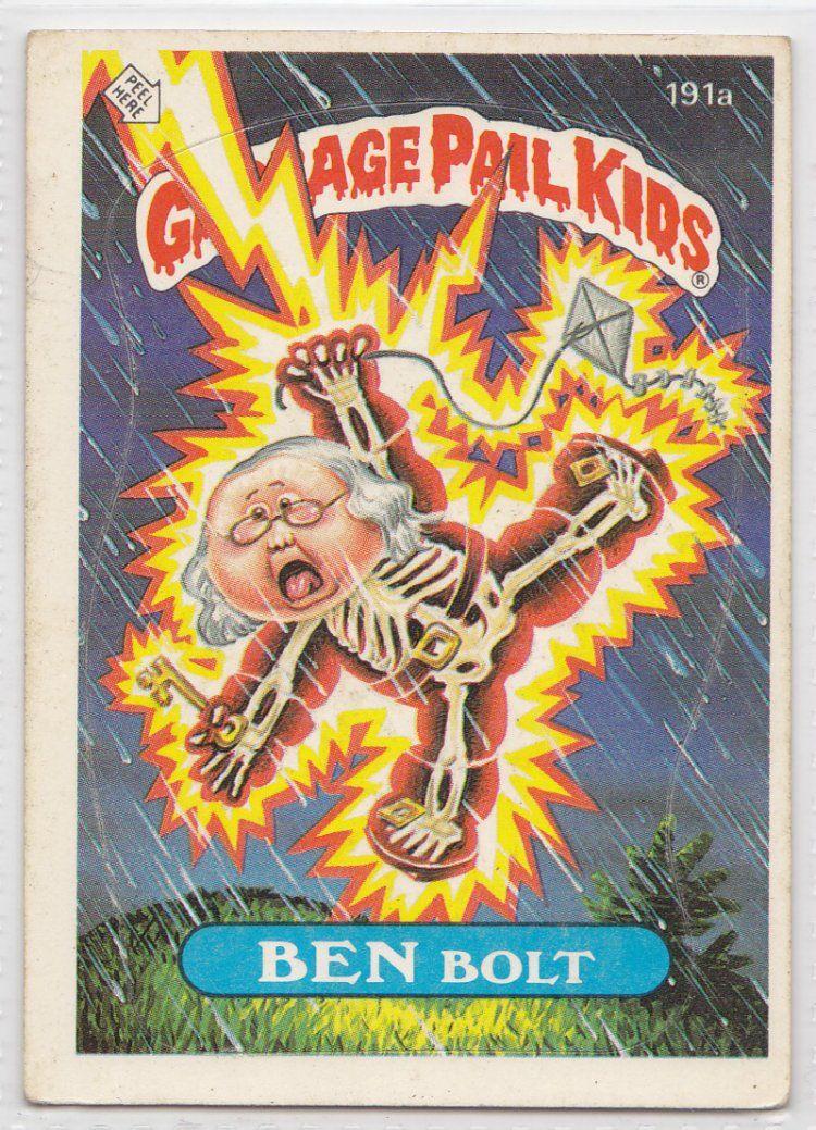 Garbage Pail Kids Skulls Obsessed With Skulls Garbage Pail Kids Garbage Pail Kids Cards Pail