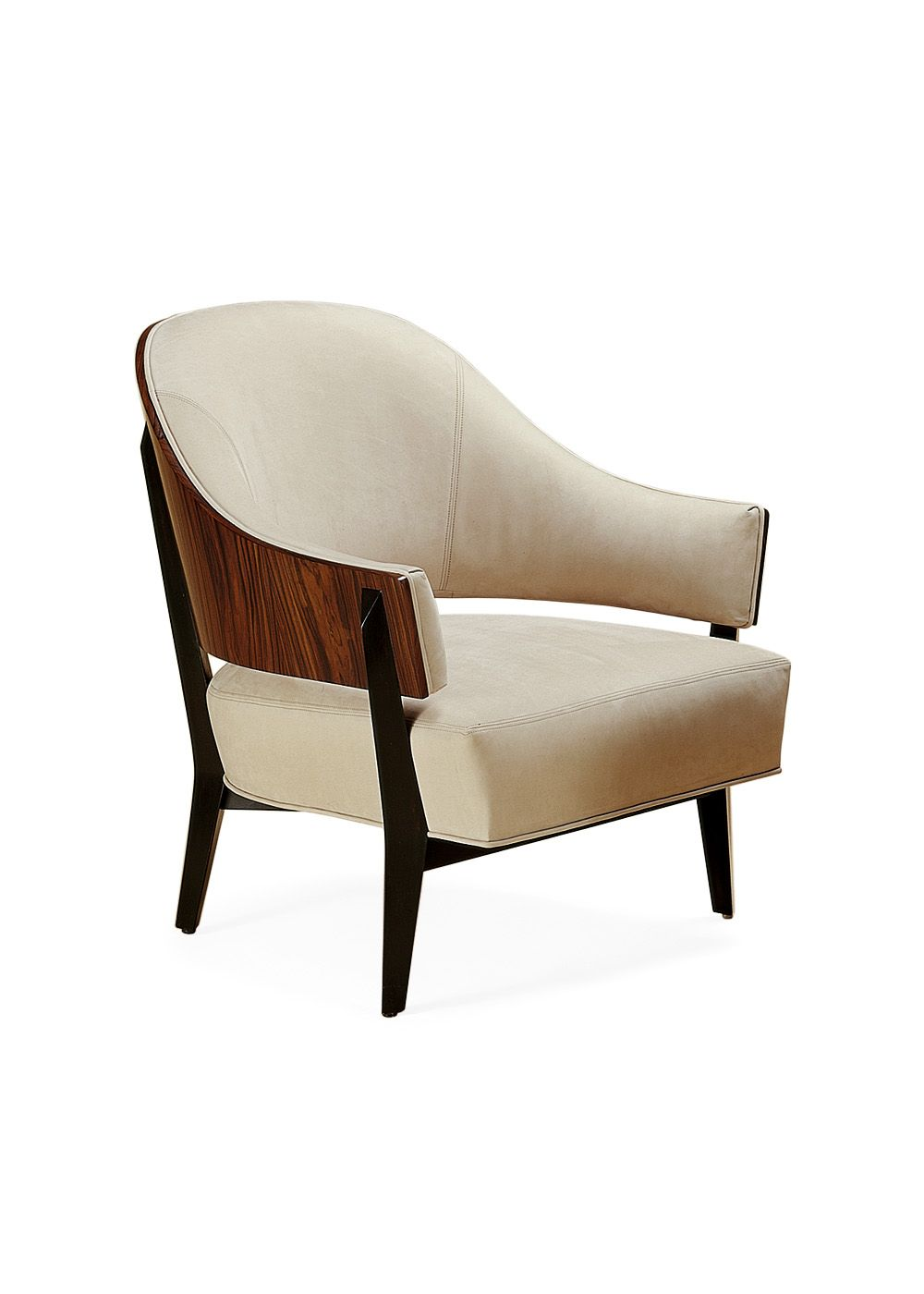 Excellent Kyoto Lounge Chair T2007 By Therien Occasional Chairs Inzonedesignstudio Interior Chair Design Inzonedesignstudiocom