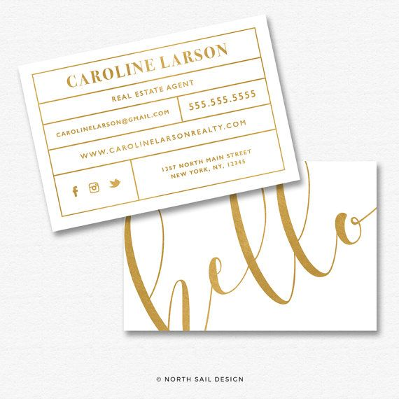 Premade Business Card Design Print Ready Gold Foil Business Card Template Custom Business C Business Card Maker Business Card Design Custom Business Cards