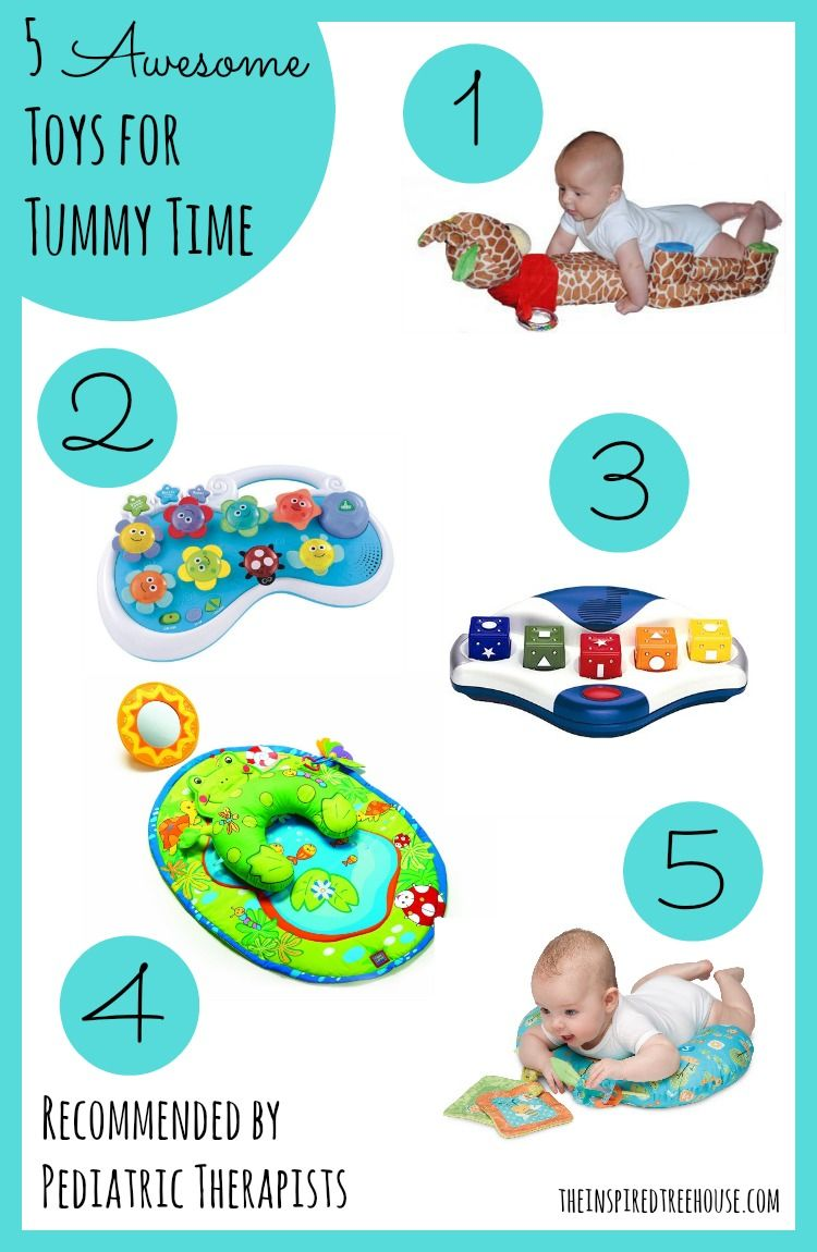 5 Awesome Toys To Make Tummy Time A Blast For Baby