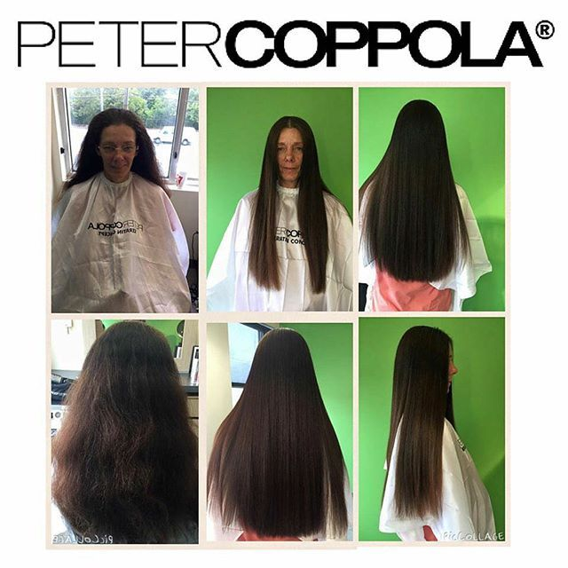 """""""#BeforeAndAfter from #CoppolaCrew's own @leethrajmoore Hair is healthy, smooth and frizz free with added benefits of shine and strength! Reverse the signs of aging and damage to your hair, try #PeterCoppola Refining Keratin Treatment!  VIsit www.petercoppola.com/keratin-treatment for more information!"""" Photo taken by @petercoppolahair on Instagram, pinned via the InstaPin iOS App! http://www.instapinapp.com (09/25/2015)"""