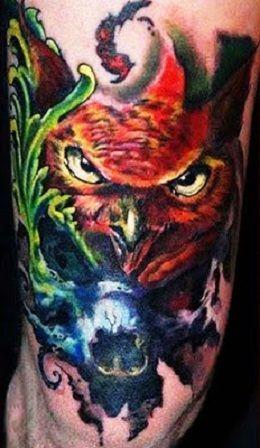 Owl Tattoo Ideas Owl Tattoo Design Owl Tattoo Animal Tattoo