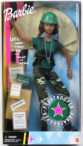 Altro Bambole Barbie Army Special Edition