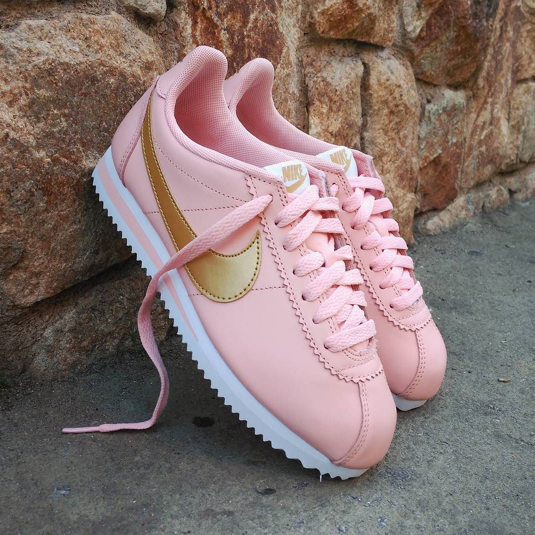 nike cortez leather donna