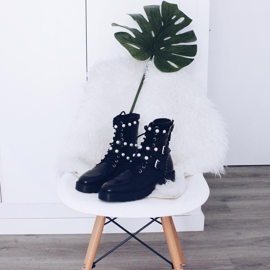 Zara Perlen Boots: Diese Schuhe tragen alle Blogger | Zara