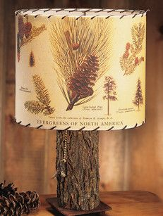 Pine Cone Lamp Shade Whispering Pines Catalog Lamp