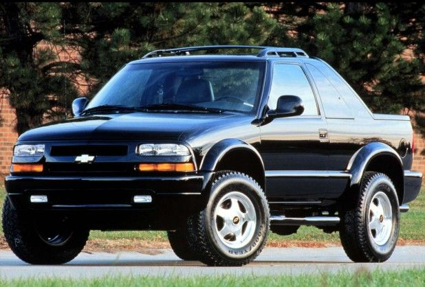 1998 To 2006 Zr2 Blazers Chevrolet Zr2 Shark Concept Model 1999