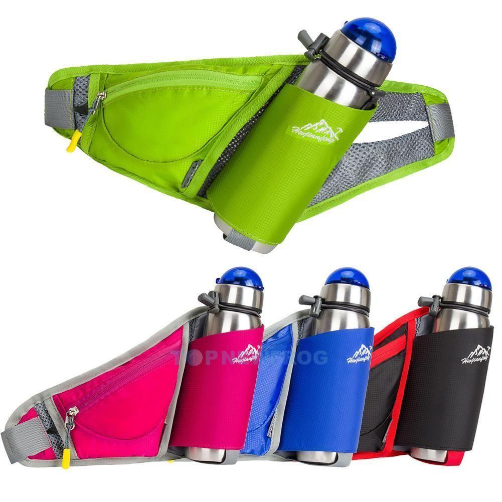 1ecd7206d5 $10.89 AUD - Men Women Water Bottle Belt Bag Chest Backpack Waist Pack  Camping Hiking Pockets #ebay #Fashion