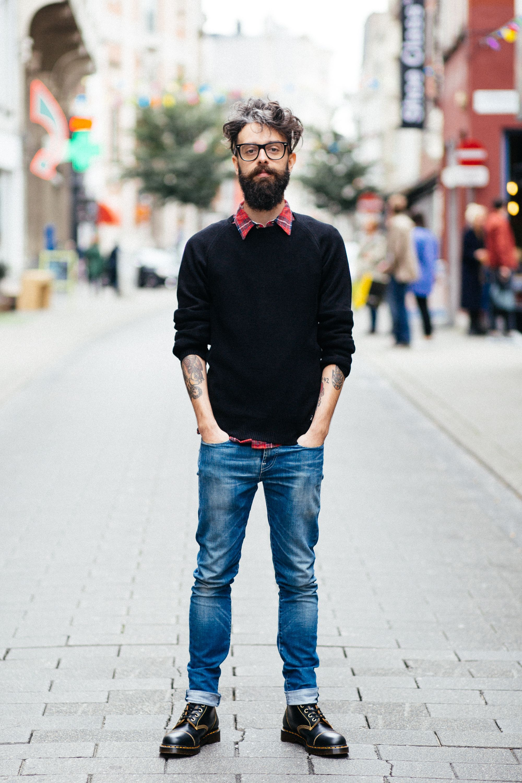 Dr martens men, Smart casual menswear