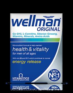Wellman Max Wellman Vitamin Tablets Maintaining Health