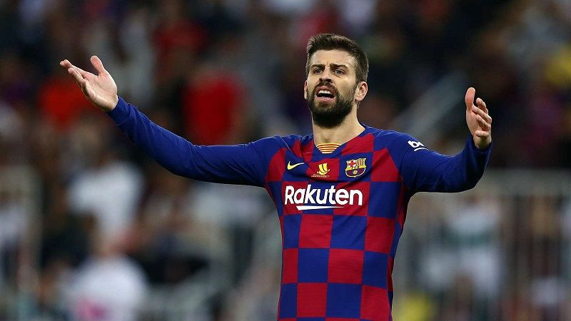 Gerard Pique Believes Barcelona Lost To The Worst Real Madrid He Has Faced At The Bernabeu As The Blaugrana In 2020 Real Madrid Real Madrid Football Real Madrid Goal