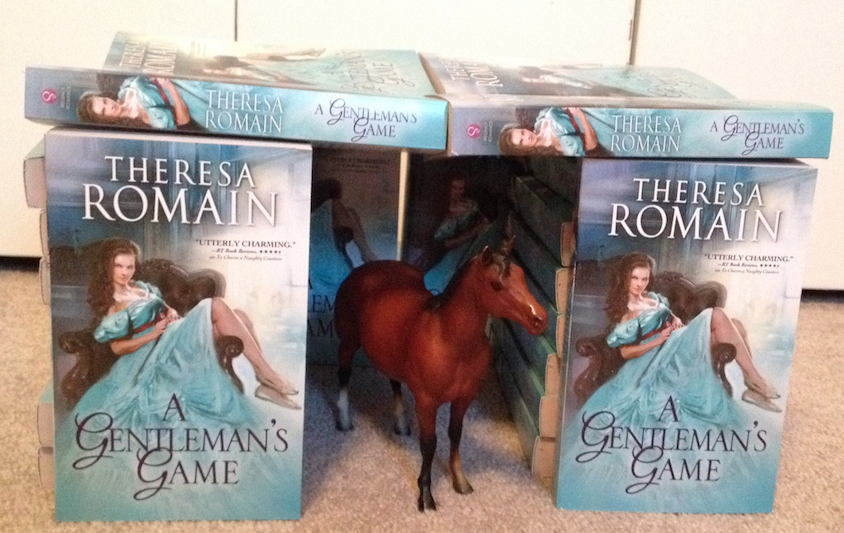 Stable. Horse. What better structure to make with a romance set in the Regency horse-racing world?