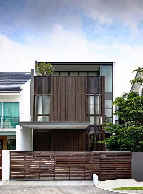 Stunning Semi Detached House In Singapore Eng Kong Garden