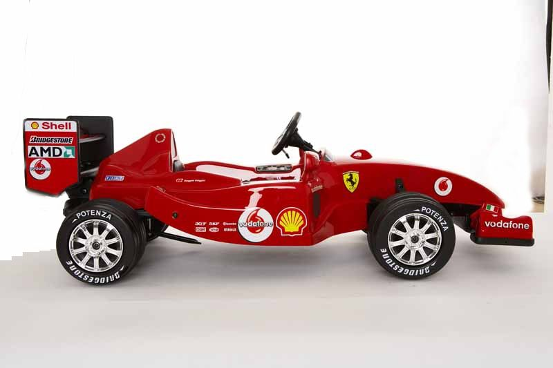 Ferrari F1 Ride On Electric Car For Kids Side View Ride On Toys Toy Car Super Cars