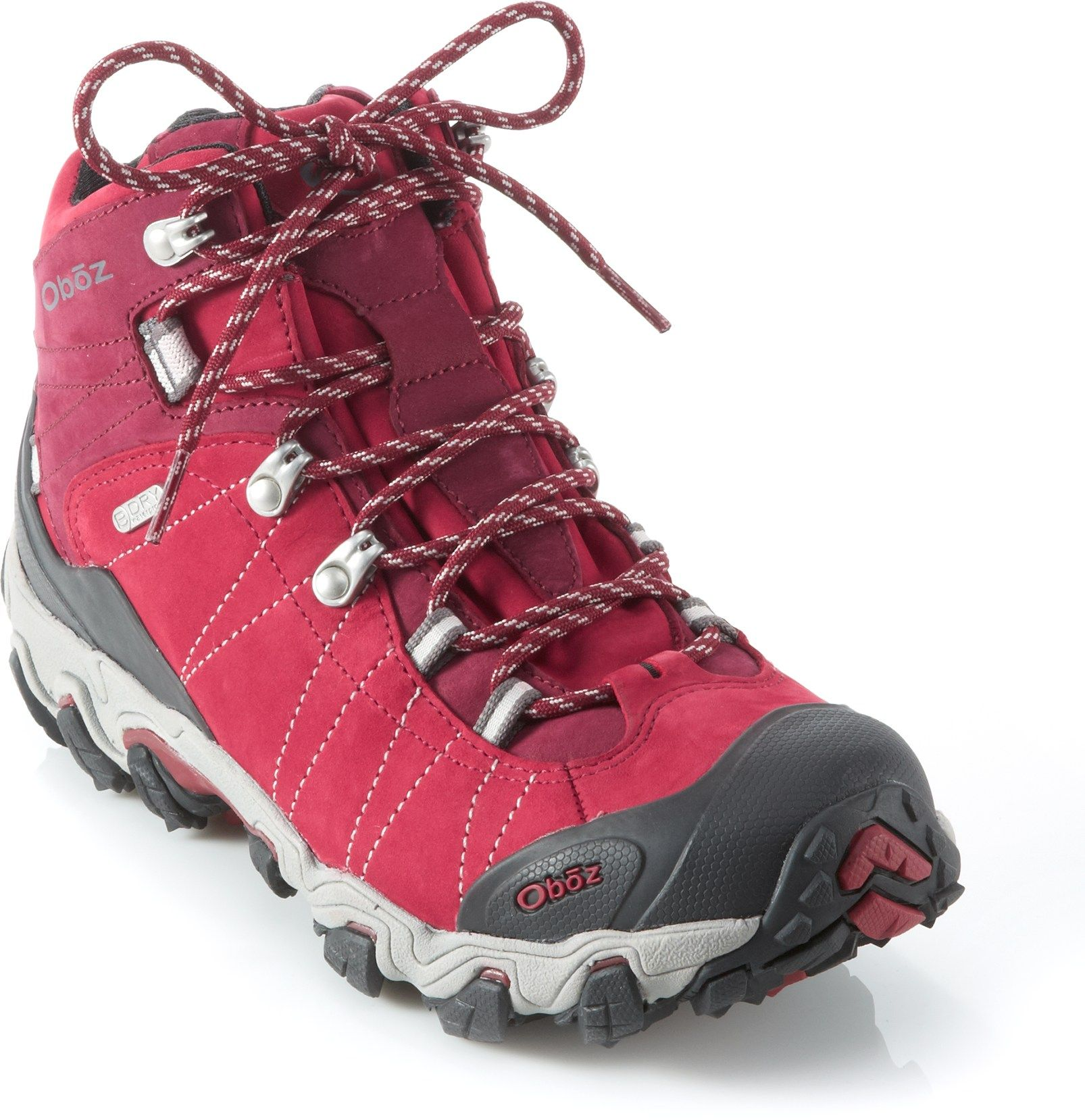 235ec67118a Oboz Women's Bridger BDry Hiking Boots Rio Red 10 Wide | *Apparel ...