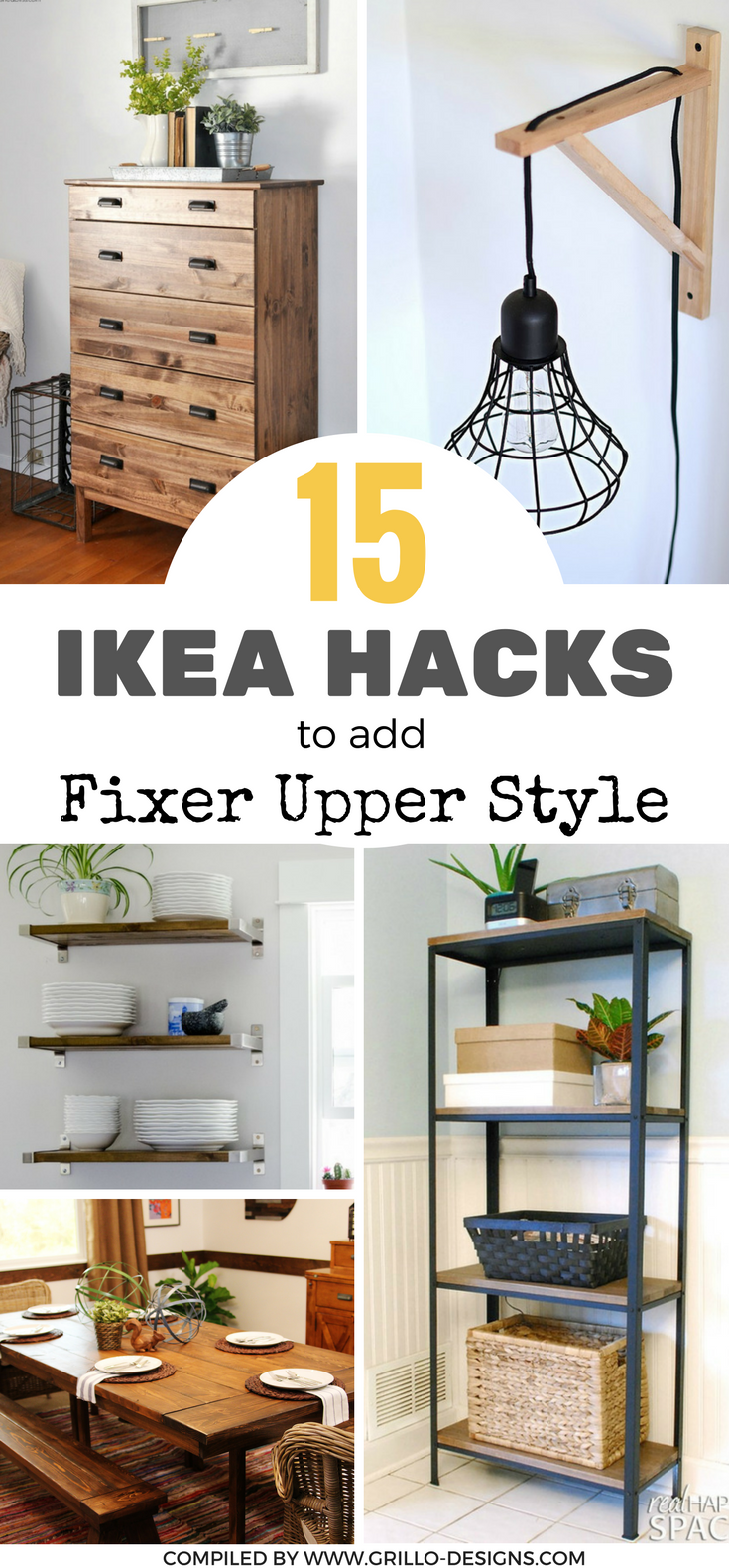 fixer upper style ikea hacks for a farmhouse appeal diy. Black Bedroom Furniture Sets. Home Design Ideas