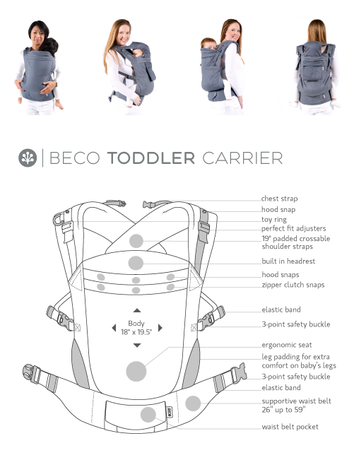 Why You Will Love The Beco Toddler Carrier Toddler Carrier Toddler