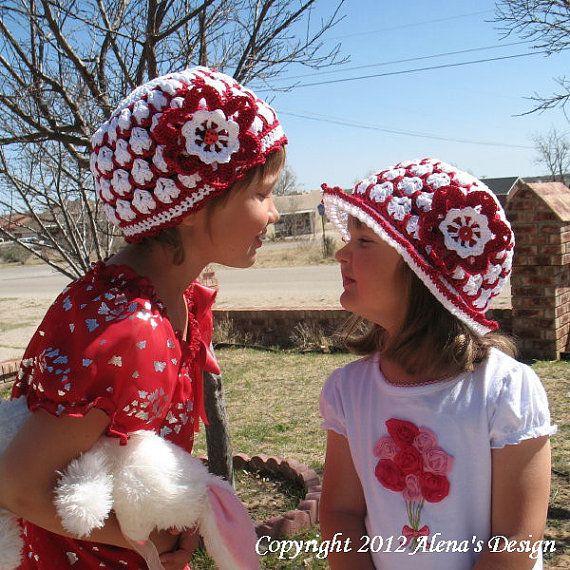 Crochet Pattern Pack Crochet Hat Pattern Sun Hat Crochet Pattern
