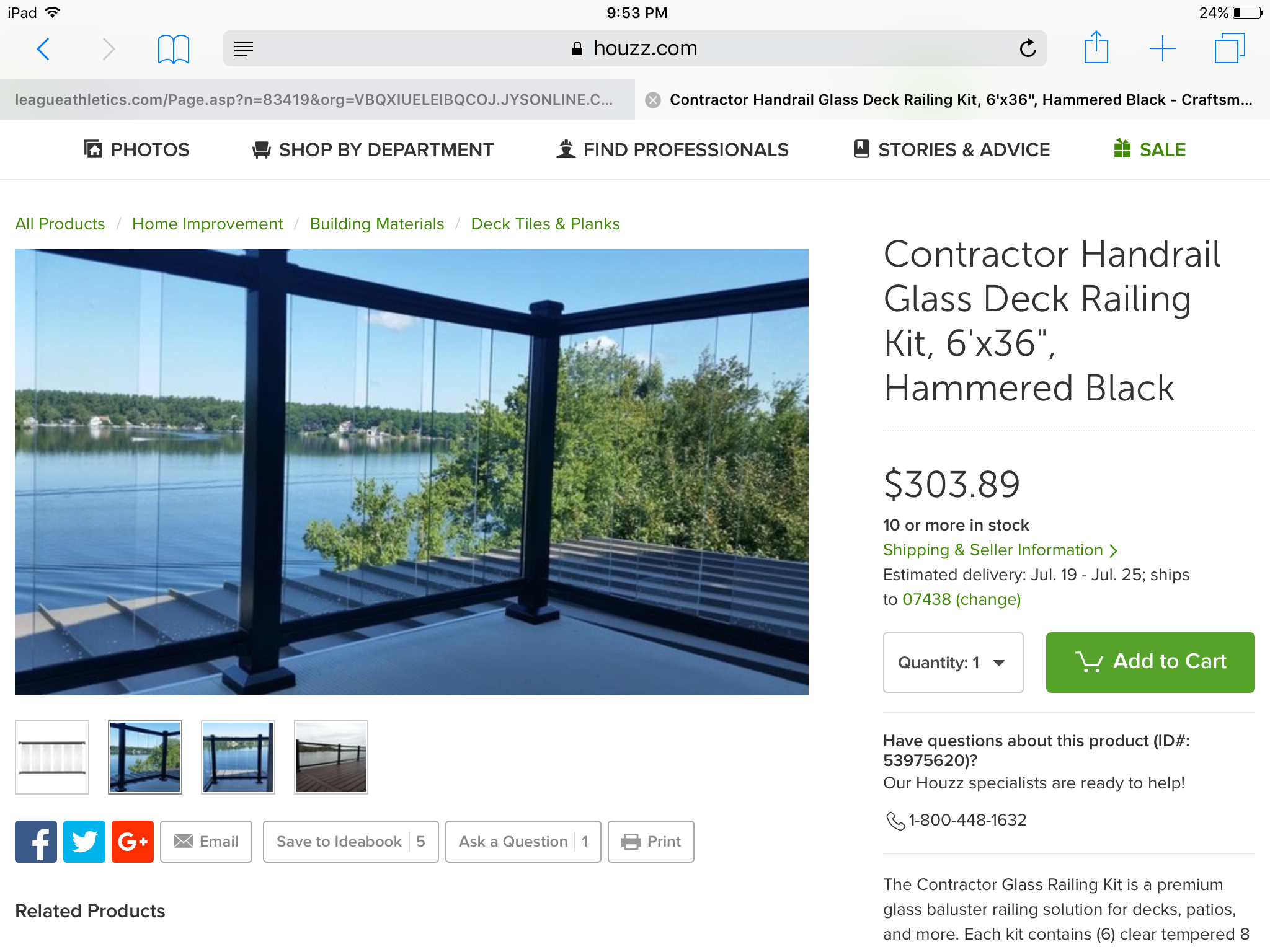 Pin By Amy Gjelsvik On Dive Right In Glass Railing Deck Deck Railing Kits Deck Railings