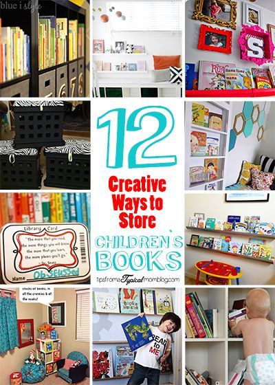 12 Creative Ways To Store Childrens Books Ogt Blogger Friends
