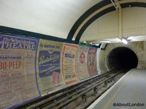Aldwych station - disused London Underground station.