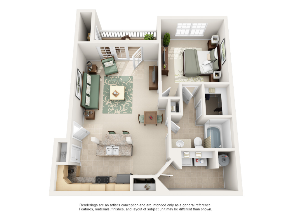 Luxury 1, 2, and 3 Bedroom Apartments in Lexington, KY 3
