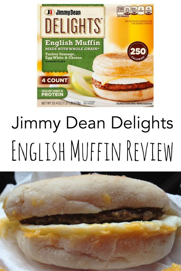 Jimmy Dean Delights English Muffin Review | A Merry Life