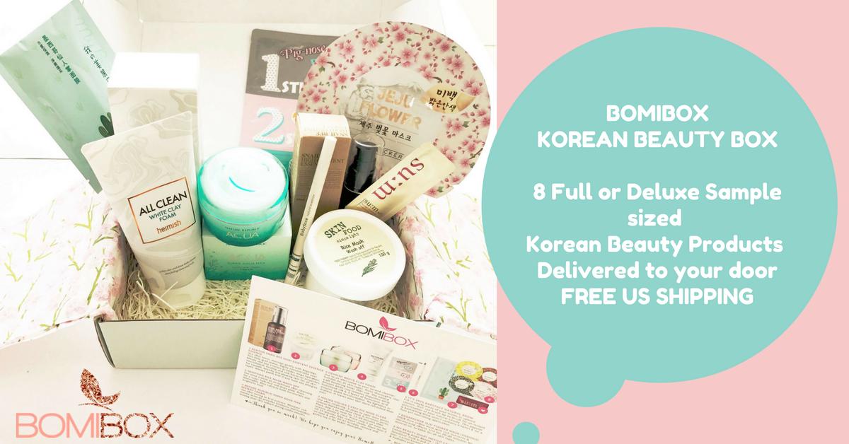 Korean Beauty Box Korean Skincare Products Makeup Skincare Subscription Box Beauty Box Korean Beauty