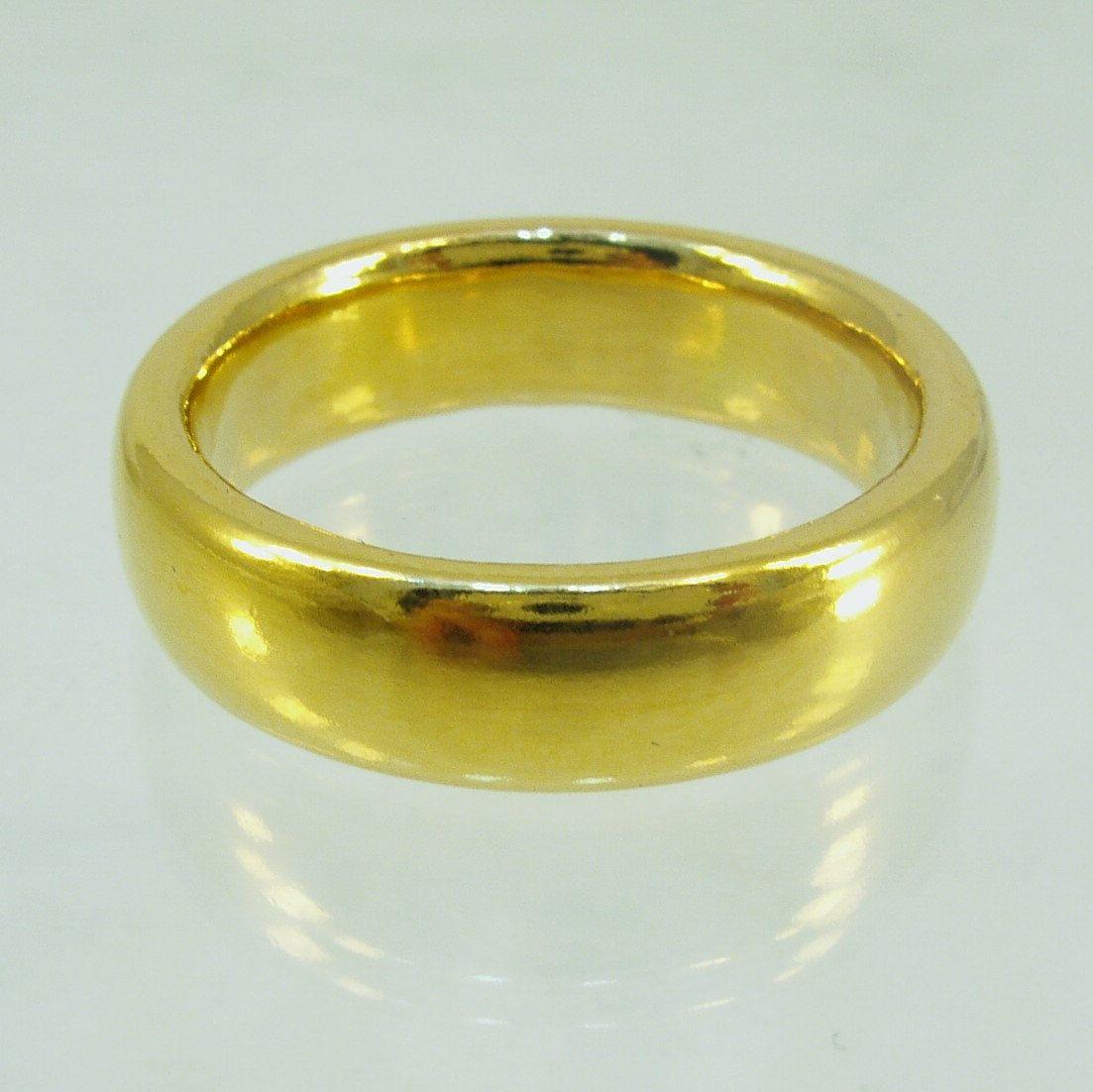Pure Goldmassive Ringmens Wedding Bandpure Gold24 Karat Etsy Rings Mens Wedding Bands Mens Wedding Bands Mens Gold Wedding Band