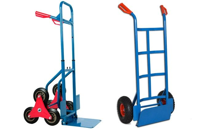 diable de transport 6 roues charge 200kg d m nagement. Black Bedroom Furniture Sets. Home Design Ideas