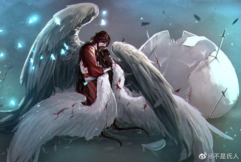 weibo.com | Ангелы и демоны, Благословение, Аниме