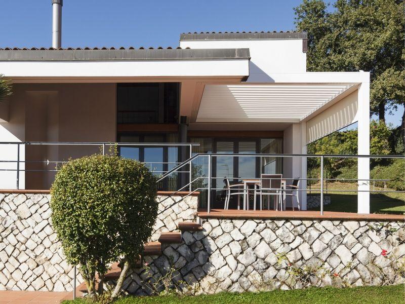 Sonnenschutz Mit Terrassenuberdachung Pergola Haus Direkt Ideen