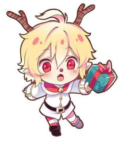 Google Anime Christmas Anime Drawings Boy Anime Chibi
